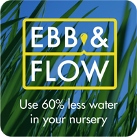 EBB & Flow - Use 60% less water in your nursery